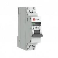 Автоматический выключатель 1P 20А (C) 4,5kA ВА 47-63 EKF PROxima