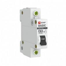 Автоматический выключатель 1P 10А (C) 4,5кА ВА 47-29 EKF Basic