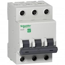 Автоматический выключатель EASY 9 3П 16А С 4,5кА 230В