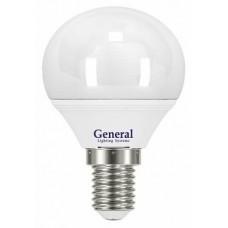 Светодиодная лампа GLDEN-G45F-8-230-E14-4500