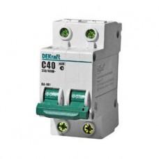 Автоматический выключатель 2Р 40А С 4,5кА ВА101-2Р-040А-С