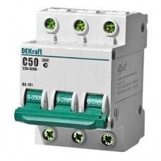 Автоматический выключатель ВА 101-3Р-050-С