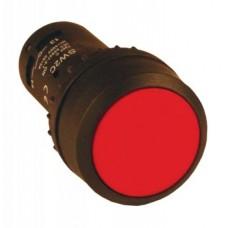 Кнопка SW2C-11 возвратная кр.NO+NC sw2c-11s-r