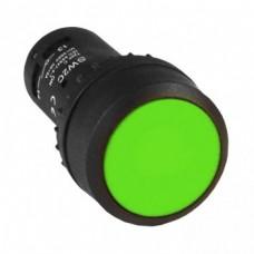Кнопка SW2C-11 возвратная зелёная NO+NC EKF PROxima