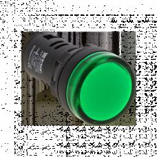 Матрица светодиодная AD16-16HS 24B AC (16мм) зел. ledm-ad16-24-g