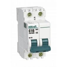 Автоматический выключатель ВА101-2Р-016А-С